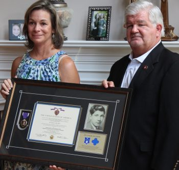 IMAGE: Donna Carpenter and Mike Pepe (brother) (Former Marine)