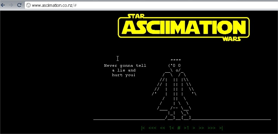 Watch Star Wars Movie In Command Prompt as Animation !!!