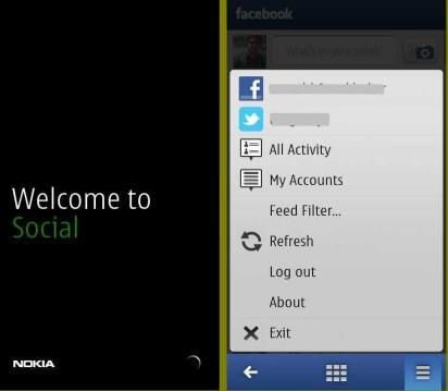 New Social app for symbain belle