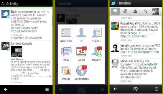 New Social app for Symbian belle