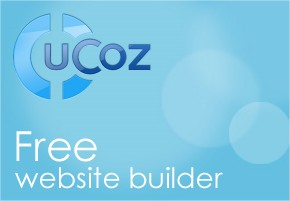 uCoz website Builder free