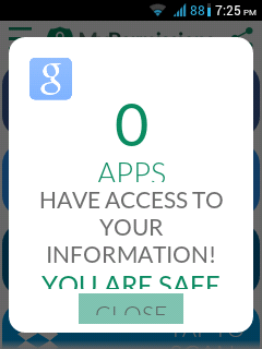 app access mypermissions