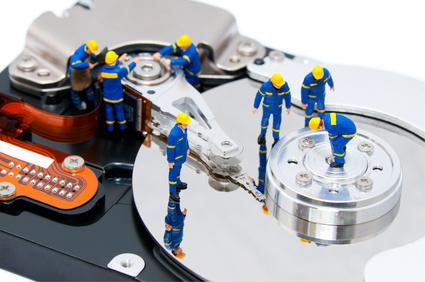 Hard disk repair tool