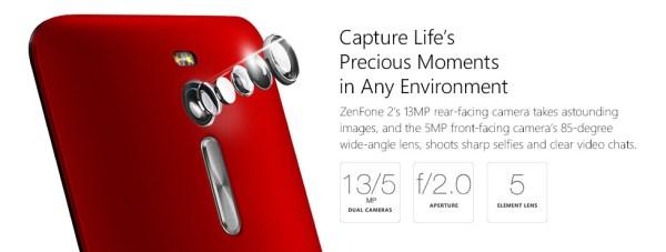 Camera Zenphone 2