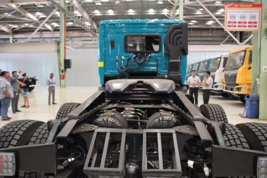 Mahindra Blazo Fuel Smart Truck