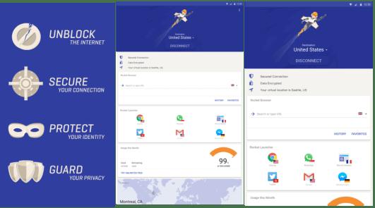 Rocket VPN Android 2
