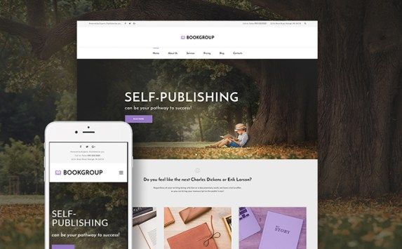 BookGroup - Book Publishing WordPress Theme