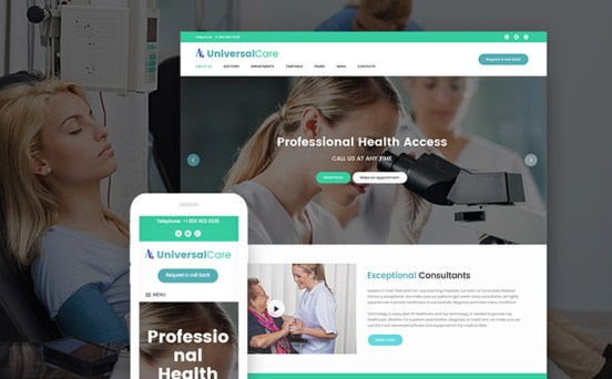 UniversalCare wordpress theme
