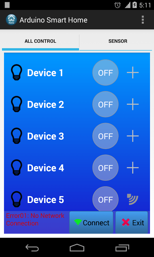Android Home Automation With Free Smartphone Application - BlogSaays