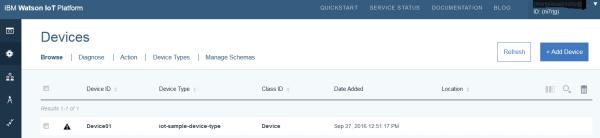 IoT IBM Bluemix