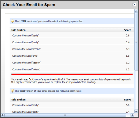Deliverability of business emails