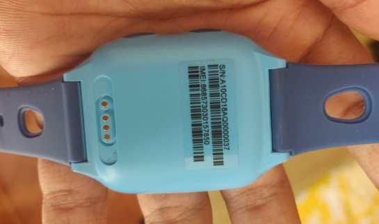 Ojoy A1 4G LTE GPS Smartwatch Backside