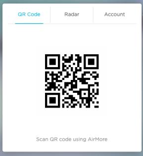 Airmore QR code