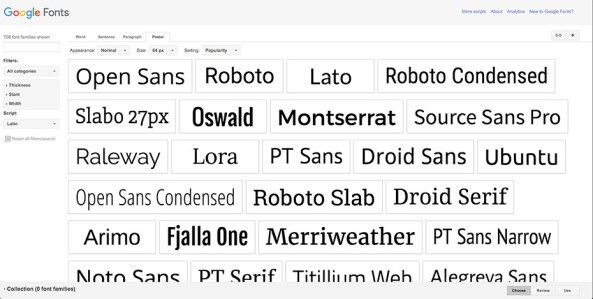 Google-Fonts-Poster