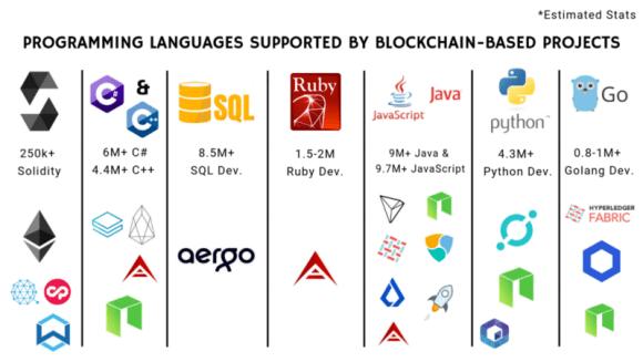 Blockchain Based Programming Language for Developers