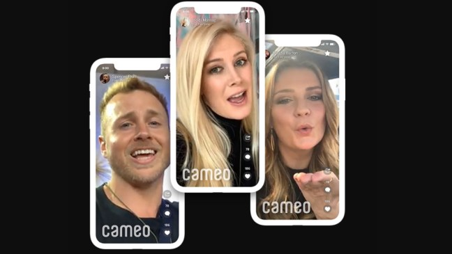 cameo Celebrity Shoutout App