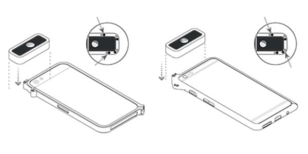 Montaggio Lente D-EYE sullo Smartphone: Oftalmoscopio Digitale Portatile