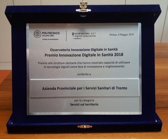 Eccellenze della Sanità Digitale: Premio Innovazione Digitale in Sanita 2018