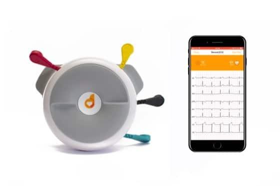 Apparecchio D-Heart e Smartphone con ECG