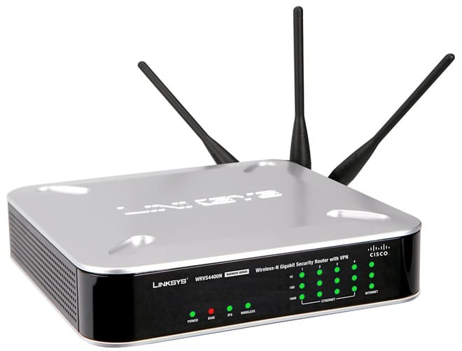 VPNFilter Malware: Router Wireless Linksys WRVS4400N