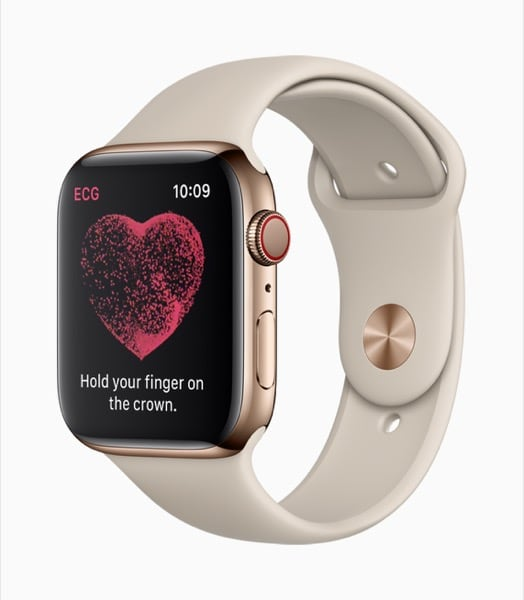 Apple Watch Series 4 App Indica Procedura per ECG