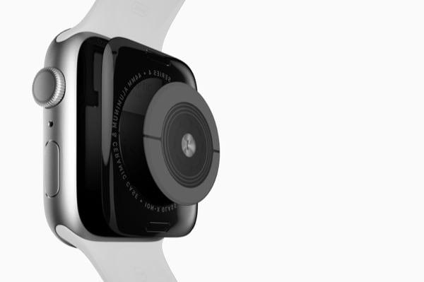 Sensore Ottico ed Elettrico dell'Apple Watch Series 4