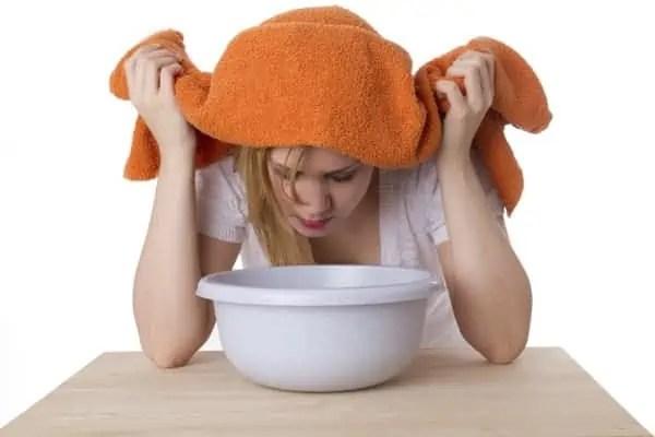 Rimedi Naturali alla Sinusite: i Suffumigi