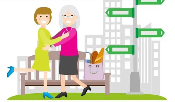 Persona Anziana si Riunisce al Soccorritore grazie a SmartWatcher