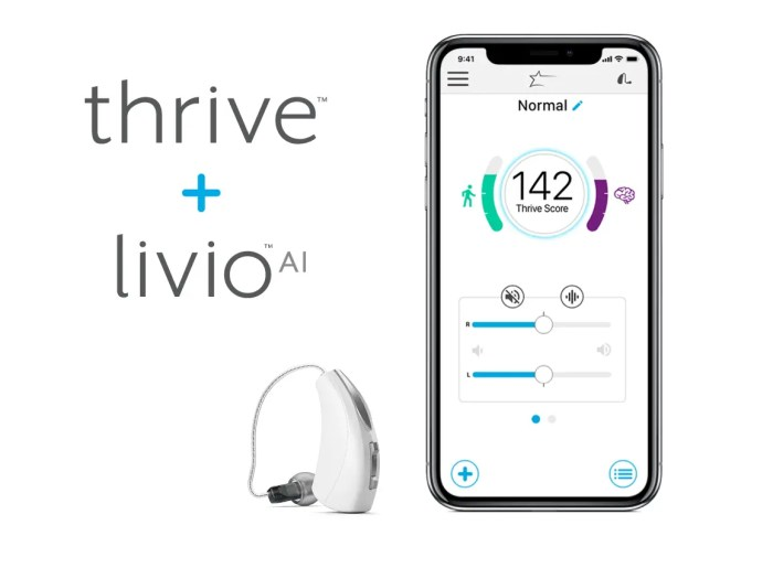 Starkey Livio AI Thrive App