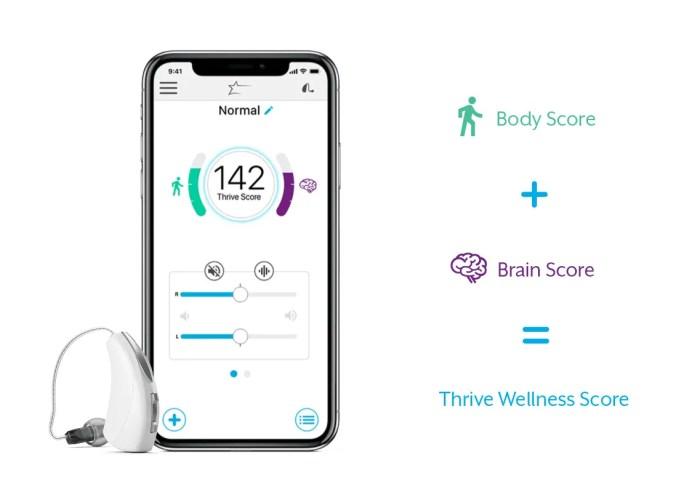 Starkey Livio AI Thrive App