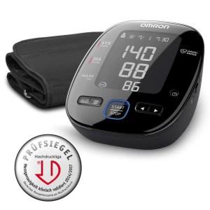 OMRON MIT5s Connect Misuratore di Pressione da Braccio, Connessione Bluetooth per App OMRON Connect, Utile per Monitorare l'Ipertensione