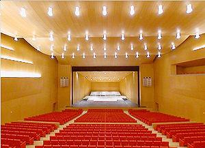 Sala principal del Baluarte que tendrá una abertura en el techo tras las obras.