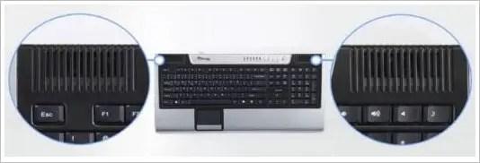 CPU inside keyboard