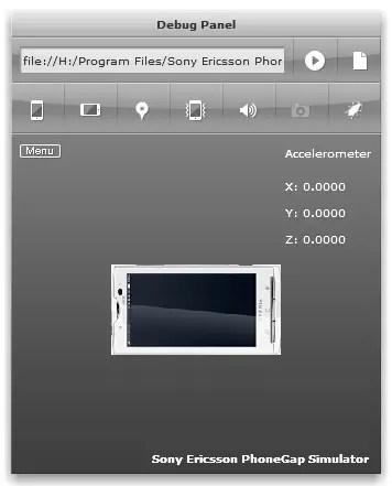 Sony Ericsson Phone Simulator