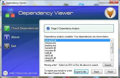 Dependency Viewer