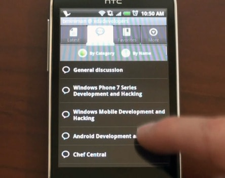 XDA Android App