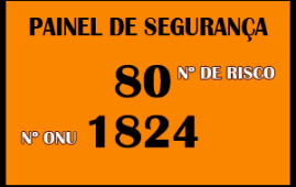 Número ONU e de Risco no Transporte de Produtos Perigosos