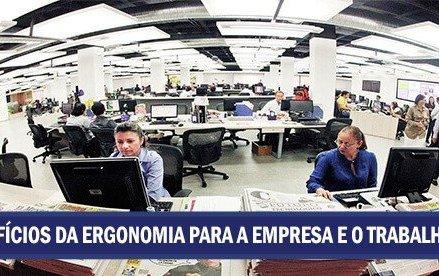 Os benefícios da ergonomia para a empresa e o trabalhador