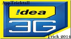 Free Idea 3G internet Trick 2014