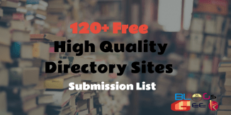 120+ Free High Quality Directory Sites Submission List