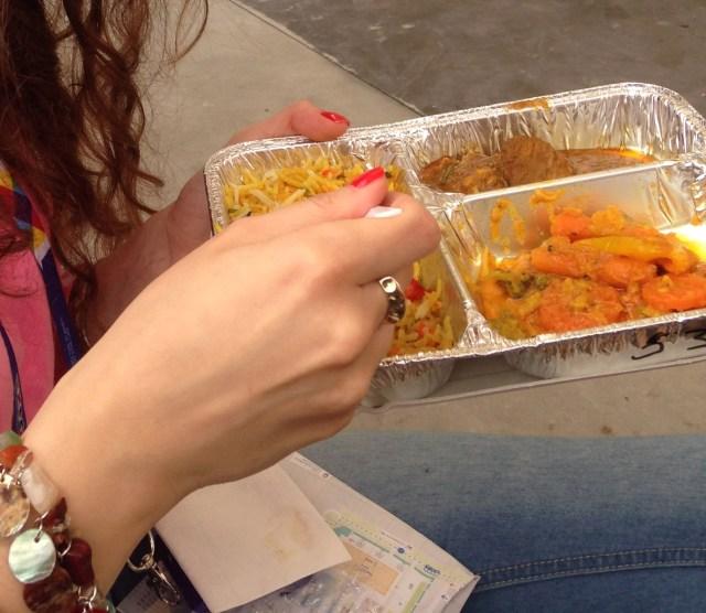 Uno dei piatti che potete trovare nella zona dedicata al Basmati
