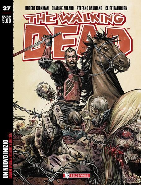 Una delle variant cover presentata al Lucca Comics and Games