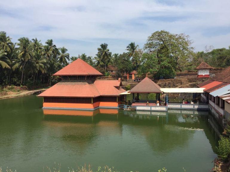 Lake Temple in Kerala