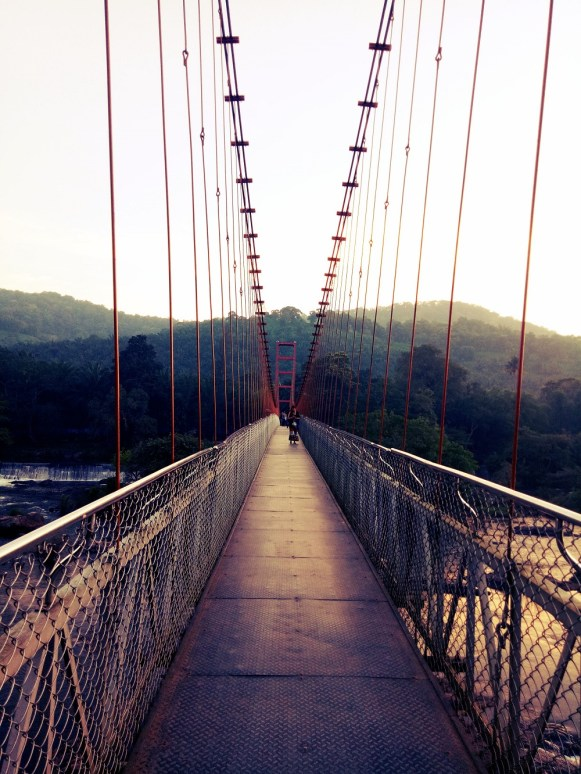Tumburmuzhi Hanging Bridge