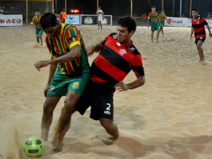 2926bbe12b Sábado de decisão na Taça São Luís de Beach-Soccer na Arena Domingos Leal