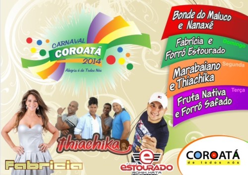Carnaval Coroata - Panfleto