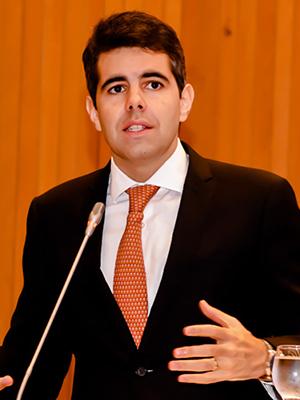Deputado estadual Adriano Sarney (PV)
