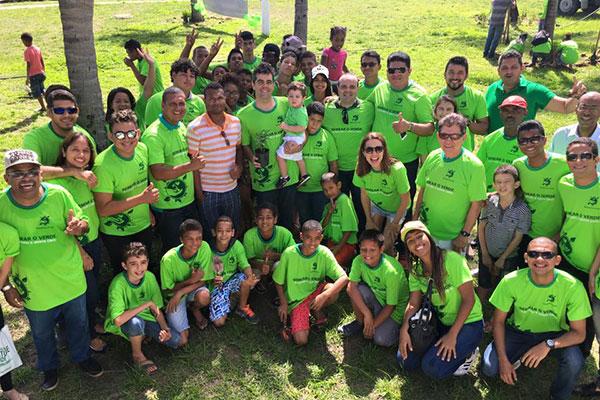 A campanha Semeie o Verde, realizada pelo Partido Verde (PV) no Maranhão e idealizada pelo deputado estadual Adriano Sarney