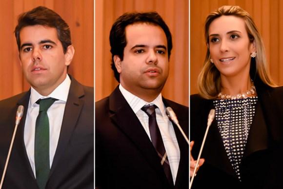 Deputados Adriano Sarney,  Edilázio Júnior e Andrea Murad criticam novo pedido de empréstimo