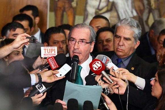 Eduardo Cunha voltou a dizer que é inocente das acusações feitas contra ele